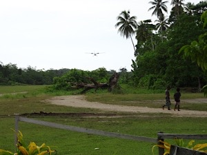 Uepi Island—way out in the Solomons